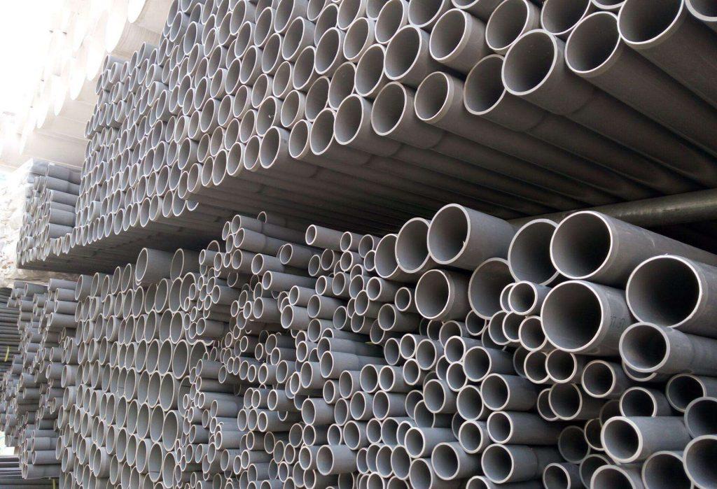 PVC-U给水管道产品性能及主要技术参数