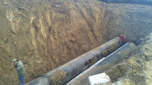 埋地PE管的施工方法