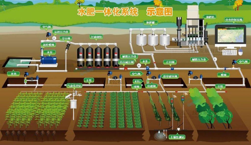 节水灌溉技术——水肥一体化