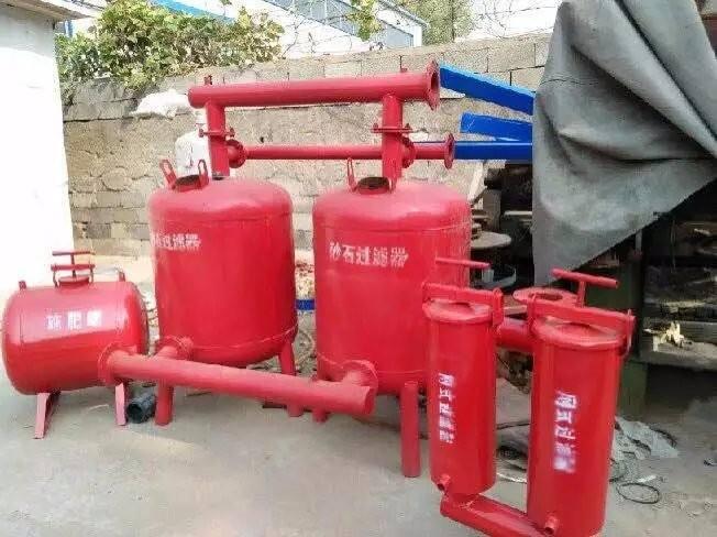 节水灌溉之砂石过滤器